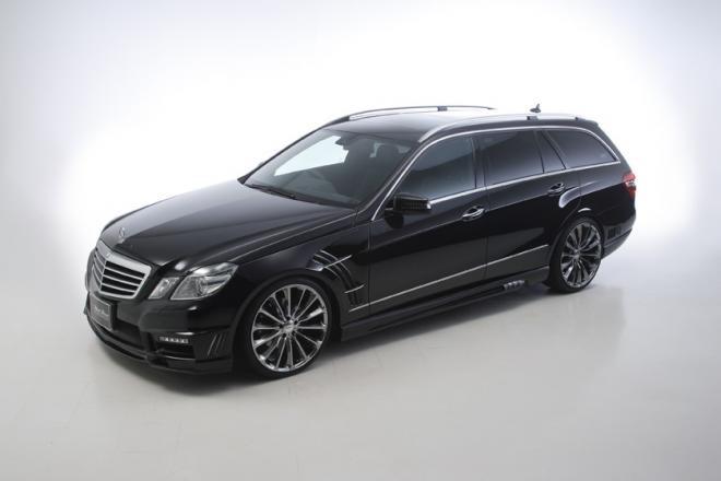 Mercedes E-Class Estate Black Bison by Wald International