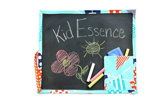 A great way to bring your childs love of drawing and chalk where ever you go, This LIMITED EDITION Lacrosse ThemeTravel Chalkboard rolls up and ties for easy storage in a backpack, purse, or diaper bag, making it very portable!!  Made with quality cotton fabric and durable blackboard fabric, this travel chalkboard will last for many years.  Your child can be entertained for hours in the car, restaurant, or airplane. Item makes a great gift for any child, and makes great party activities or…