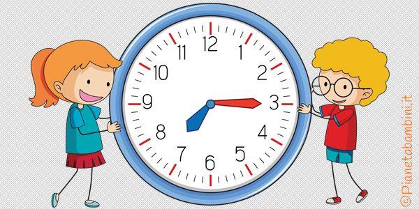 orologio bambini pinterest