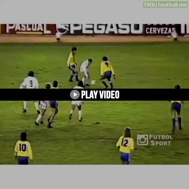 Remember this outstanding goal from Real Madrid. legend Emilio Butragueño?