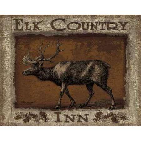 Posterazzi Elk Country Canvas Art - Todd Williams (24 x 30)