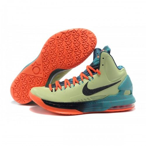 Cheap Kevin Durant Shoes Black Orange Blue Green, cheap Nike KD 5 Shoes, If  you want to look Cheap Kevin Durant Shoes Black Orange Blue Green, ...