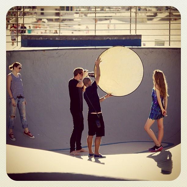 Bondi Fashion Shoot #model #fashion #atbondi #photography #shoot #bondi #skate #photo #sydney