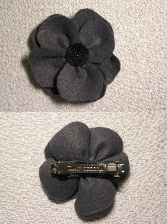 kwiatek - spinka