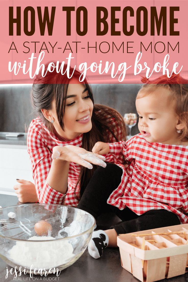 It can be scary making the decision to become a stay-at-home mom - after all, going from two incomes to one is frightening. But making the transition doesn't have to be difficult - it just takes a little planning