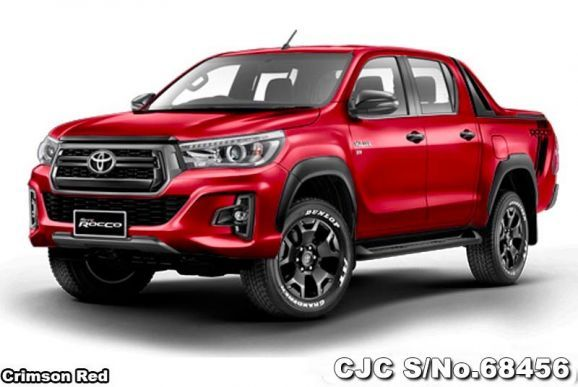 Brand New Hilux Revo Rocco 2018 Double Cab 4wd At 5 Seats Toyota Hilux Series Presented Hilux Revo Roc Toyota Hilux Pickup Trucks For Sale Used Pickup Trucks