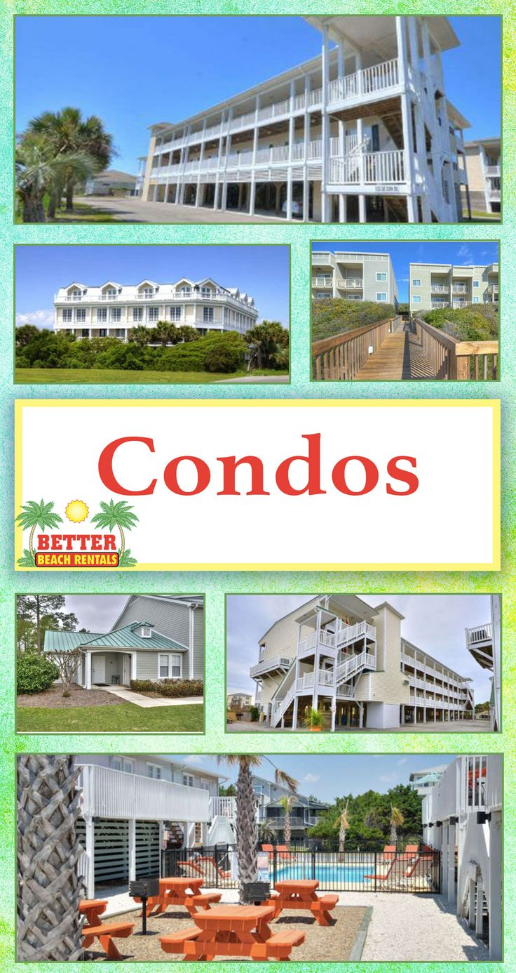 Don't overlook our amazing Oak Island condos! Have a look...and book your next beach vacation today!