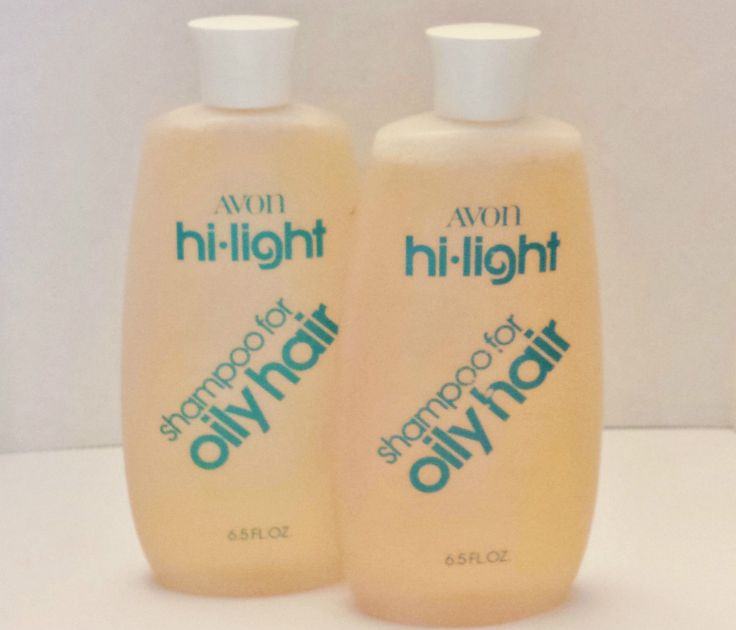 New Vintage Avon Hi Light Shampoo for Oily Hair 6 5 FL oz x 2 Bottles | eBay