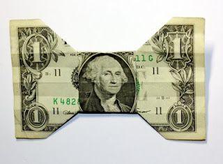 Origami n' Stuff 4 Kids: Origami: Dollar Bill Bow Tie