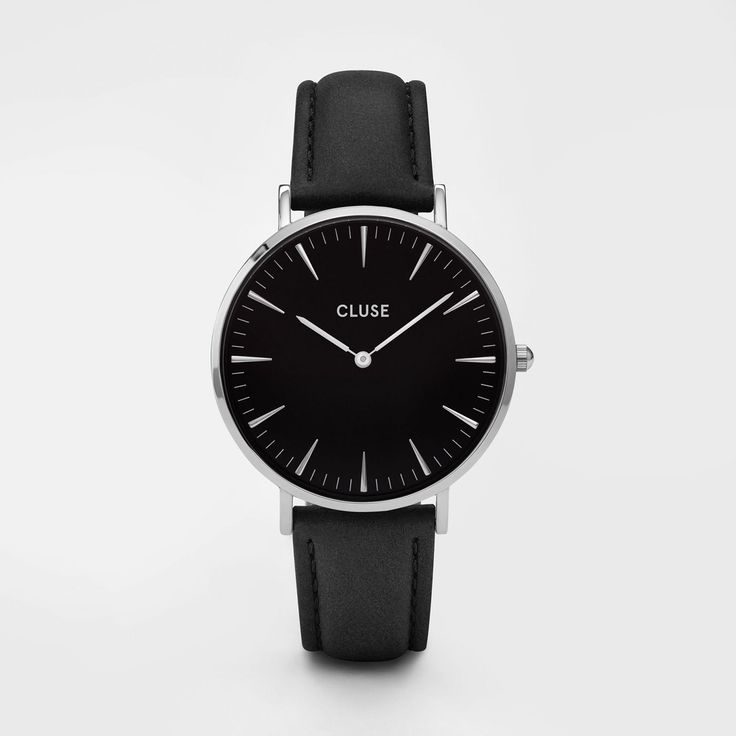 La Bohème Silver Black/Black - Cluse Watches