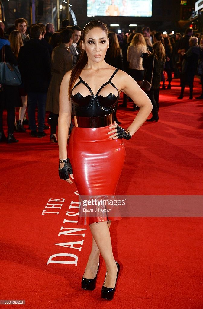 Sofia Hayat attends the UK Film Premiere of 'The Danish Girl' on December 8, 2015 in London, United Kingdom.