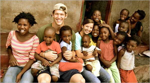 They recently built an orphanage together in Zambia. | 22 Reasons Clayton Kershaw Would Be An Awesome Best Friend