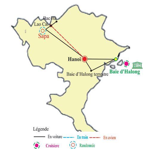 circuit vietnam nord 11 jours - circuit vietnam