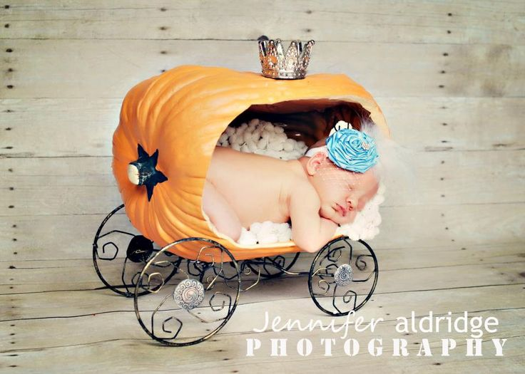 Cinderella vintage headband- Newborn headband- Baby headband - Girls headband-photo prop- birthday. $16.95, via Etsy.