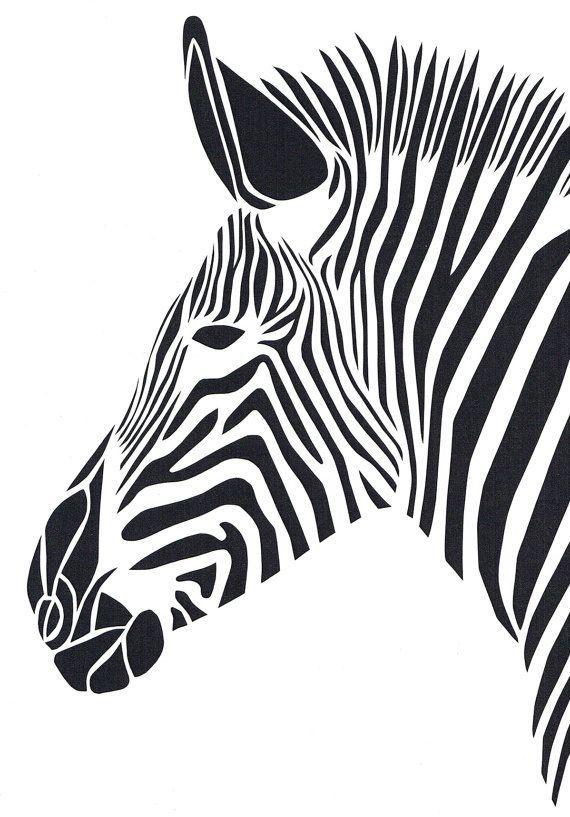 Zebra Paper Cut                                                                                                                                                      More