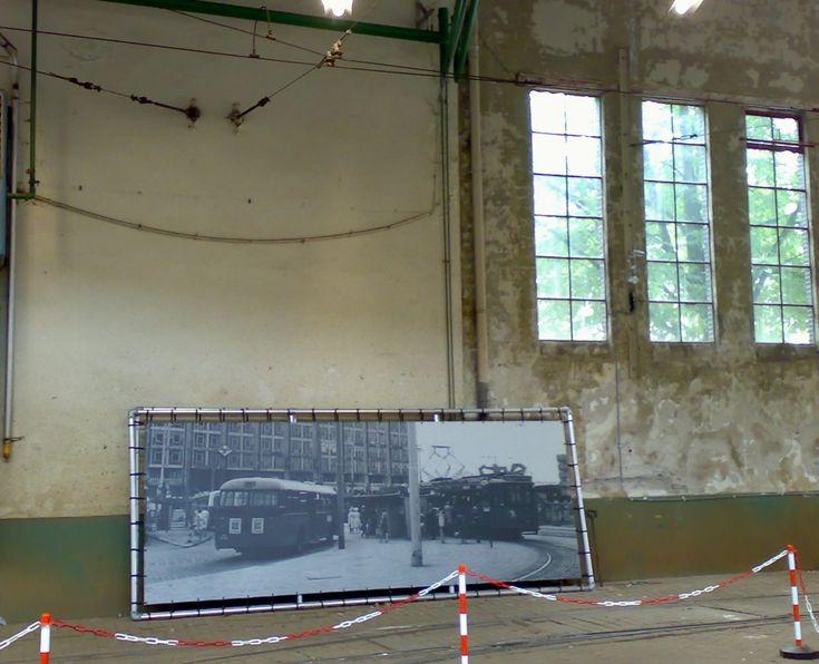 Tramremise Hillegersberg Rotterdam | Tegenwoordig tevens een kunstpodium!
