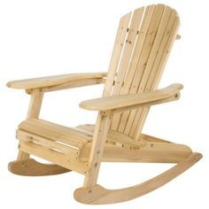 wooden rocking chairs 7 most comfortable hometone - Adirondack Rocking Chair