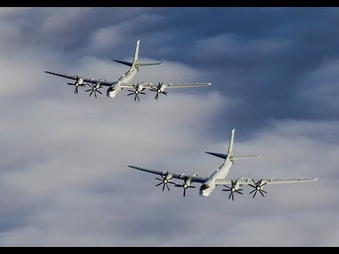 Tu-95MS hit the objects of ISIS with cruise missiles X-101 in Syria