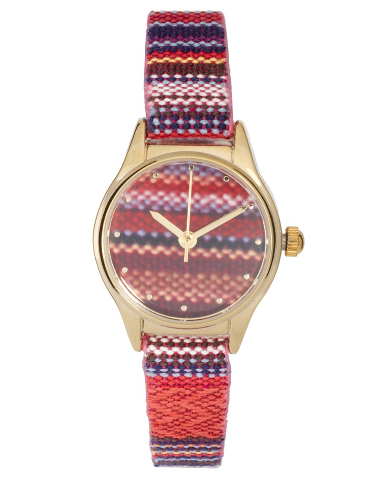 River Island Aztec Strap Watch
