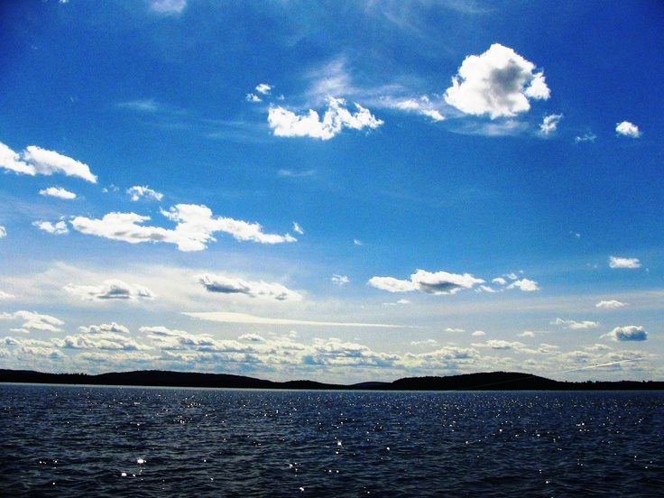 Lake Inari in Lapland