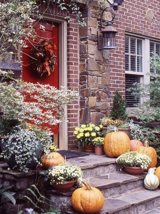 Halloween PorchDecorations - Style Estate -