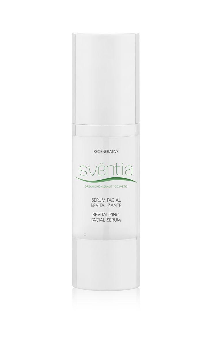 Sventia Revitalizing facial serum, certificated organic cosmetics from Spain, BDIH