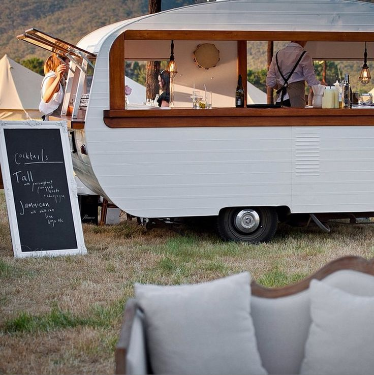 75 Best Caravan Food Ideas Images On Pinterest: 25+ Best Ideas About Mobile Bar On Pinterest