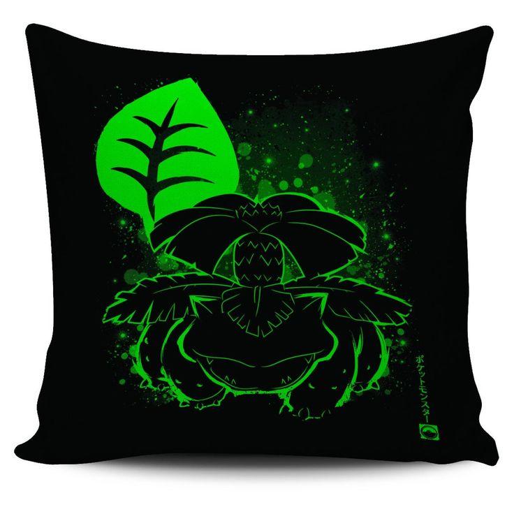 Pokemon Venusaur Pillow Cover