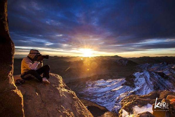 The Breathtaking Views at Mount Sinai in Egypt