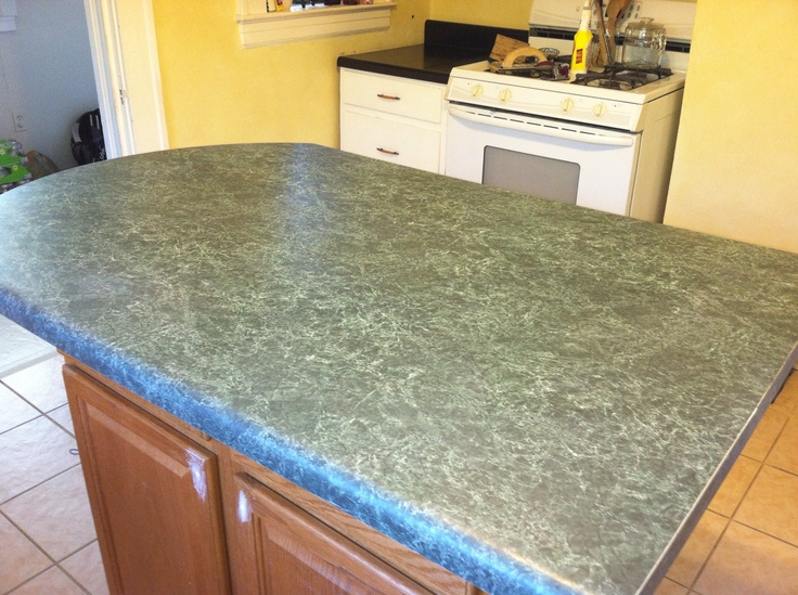 Countertop Chalk Paint : Pin by Adrienne Waterman Collins on Kitchen Remodel DIY on a small bu ...