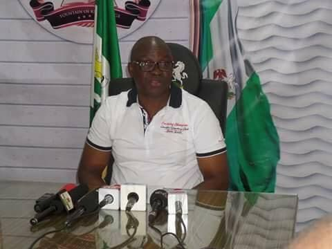 Full Text Of The Press Briefing By Ekiti State Gov Mr Ayodele Fayose On April 3 2017 Gentlemen of the press Recall that I addressed you on January 5 this year about plots and machinations by my predecessor in office Dr. Kayode Fayemi in cahoots with leaders and stalwarts of the All Progressives Congress (APC) in Ekiti and Abuja to return to power through the backdoor by subverting the will of the Ekiti people and truncate democracy through devious plans of enlisting a section of the…