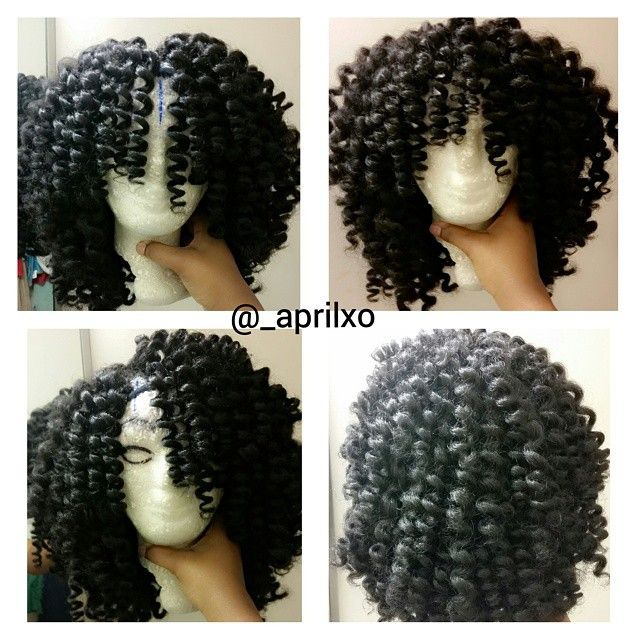 This is how I want my crochet wig to look when I'm done!  www.talktresses.com