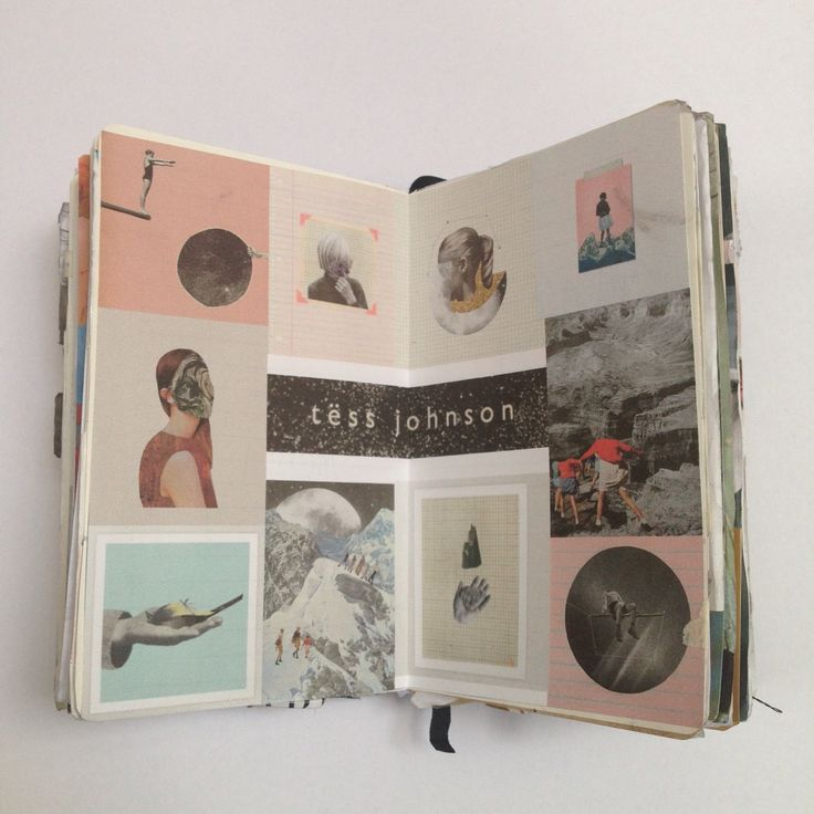 """Tess Johnson inspiration page"" Cait Mceniff"