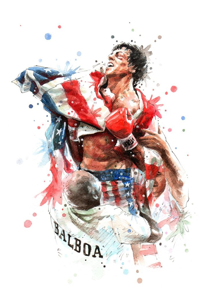 Gonna sit in my balboa shorts and watch Rocky Balboa - disappointed with the heavyweight result tonight, Joyce was robbed, Yoka stood like a stone and stumbled like a drunk, to have dared to do the Ali shuffle was an insult! Kinda wishing I'd got me one of those Apollo Creed washington hats though! (Image by Nazar Stefanovic)