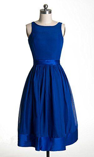 Newdeve Cobalt Blue Short Sleeveless Bridesmaid Dress (2) New Deve http://www.amazon.com/dp/B01113OTWO/ref=cm_sw_r_pi_dp_Gx6dwb1DVDE7J