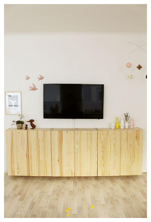 Ikea Ivar Tv Unit Ikeaivartvunit Ikea Ivar Family Room Walls Apartment Makeover