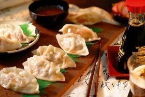 Gyoza pork dumplings
