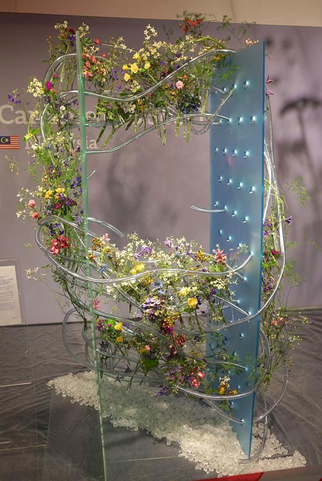 Artist Caroline Loo Sooi Hing, Malaysia :: Fleurop-Interflora World Cup – Berlin 2015