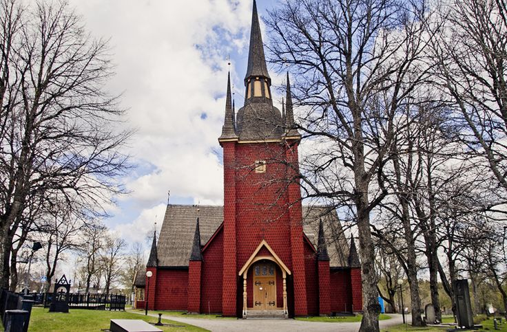 This is the church in Kopparberg, it is called Ljusnarsbergs church.