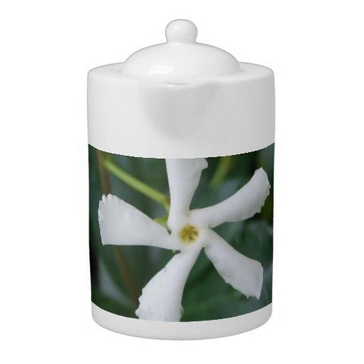 Star Jasmine Teapot