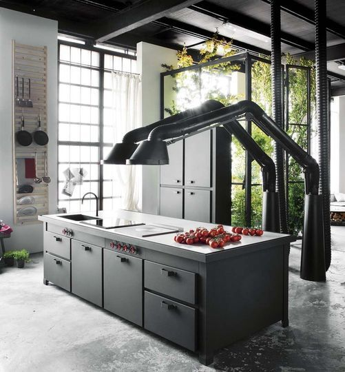 les 8 meilleures images du tableau hotte cuisine sur pinterest hotte cuisine hotte aspirante. Black Bedroom Furniture Sets. Home Design Ideas