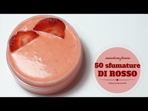 "MASCHERE FRESCHE fai da te LUSH DIY ""50 SFUMATURE DI ROSSO"" - YouTube"