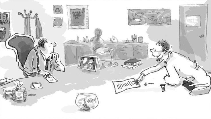 Kinderboekenweek 2014, Dag 8: Waar schrijf je?