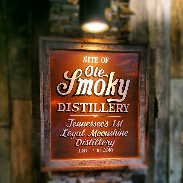 The Ole Smoy Distillery,Legal Moonshine in downtown Gatlinburg. Must be 21.