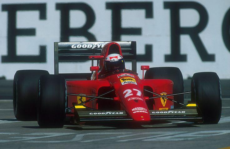 Alain Prost Ferrari 1991