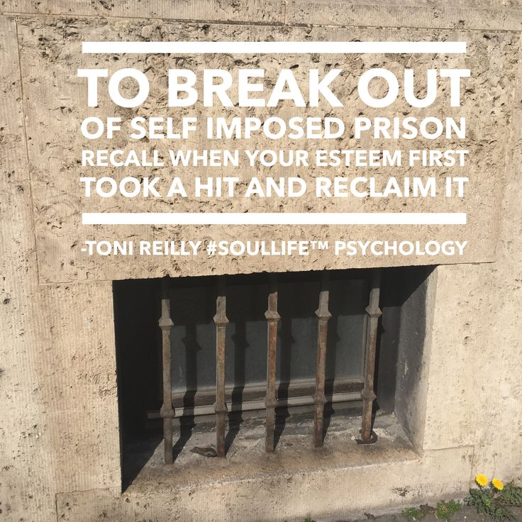 Anxiety, doubt, confidence, guilt and worry are all obstacles binding us in a self imposed mindset only we can break free from. Support and mentoring can boost us but ultimately we are the one who must take the plunge, potentially risking what? Feeling inferior and on edge... C'mon you can do it!  #SoulLifePsychology for reclaiming your esteem.  Become s practitioner here www.tonireillyinstitute.com #confidence #personaldevelopment #selfawareness #worthwhile #selfworth