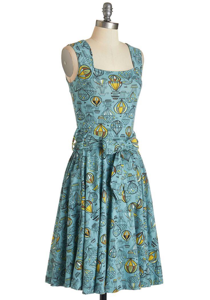 I heart you yellow print dress