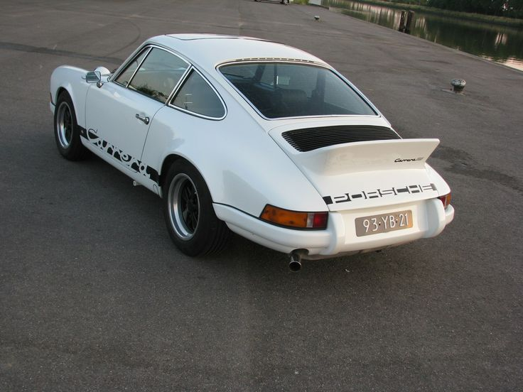Back- Speed Service Porsche 911 RS (replica)