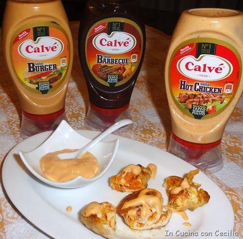 Involtini di pollo alle carote con la Nuova Salsa Calvé EXTRA GUSTO Hot Chicken