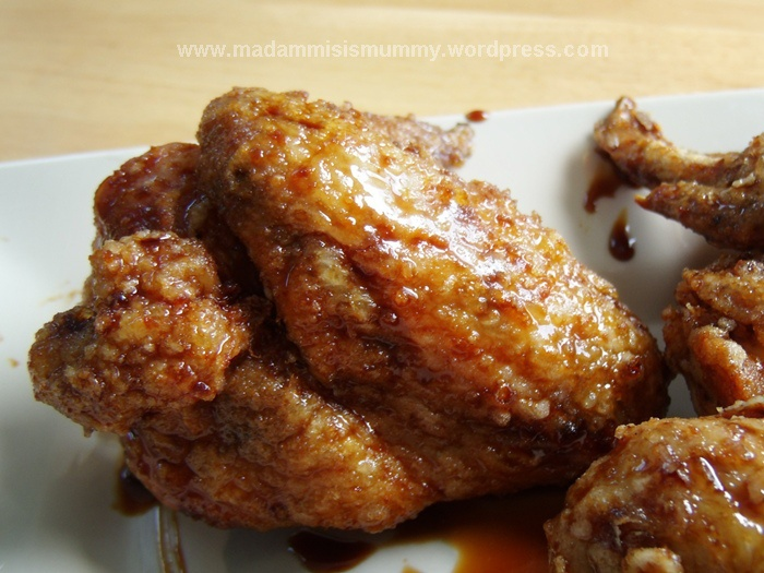 KOREAN-STYLE FRIED CHICKEN | RECIPES for the Ohana! | Pinterest